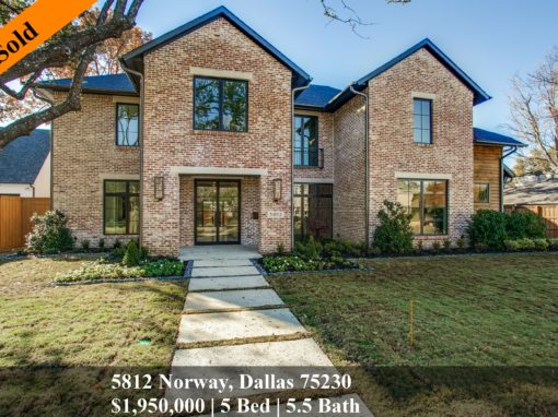 5812 Norway, Dallas 75230